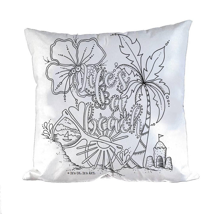 Pillow Art | Life's a Beach | The Good Life Creations