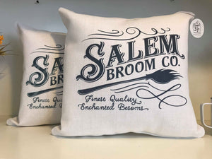 Salem Broom Company | Halloween | Pillow Cover | The Good Life Creations
