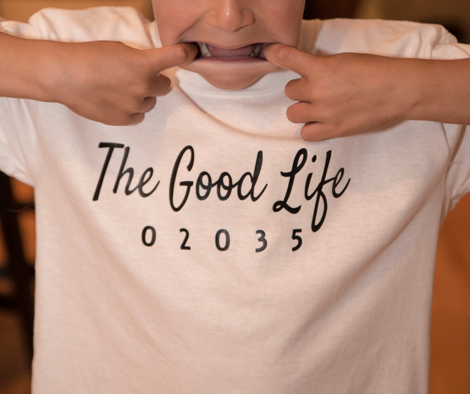 The Good Life Zip Code | Tee | KIDS | The Good Life Creations