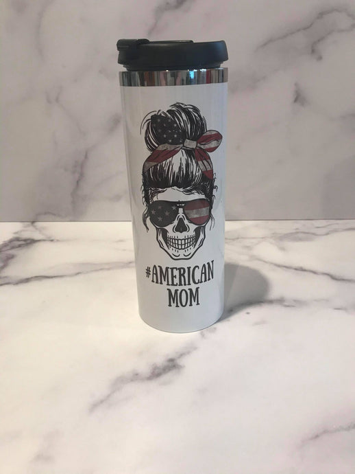 OOPS | American Mom | Stainless Tumbler | The Good Life Creations