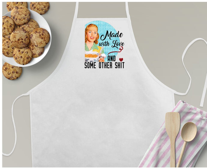 Apron | Retro Fun | Made with Love | The Good Life Creations