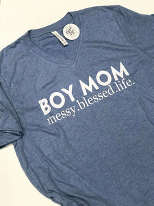 Boy Mom | Most comfy T | The Good Life Creations