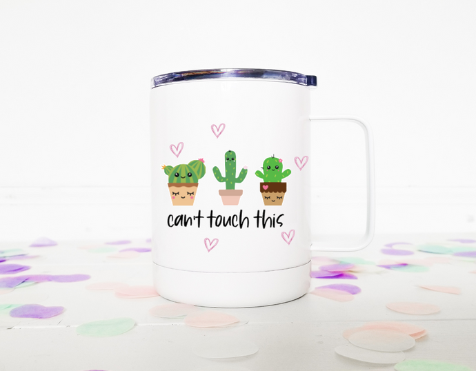 Can't touch this | Stainless Mug | The Good Life Creations