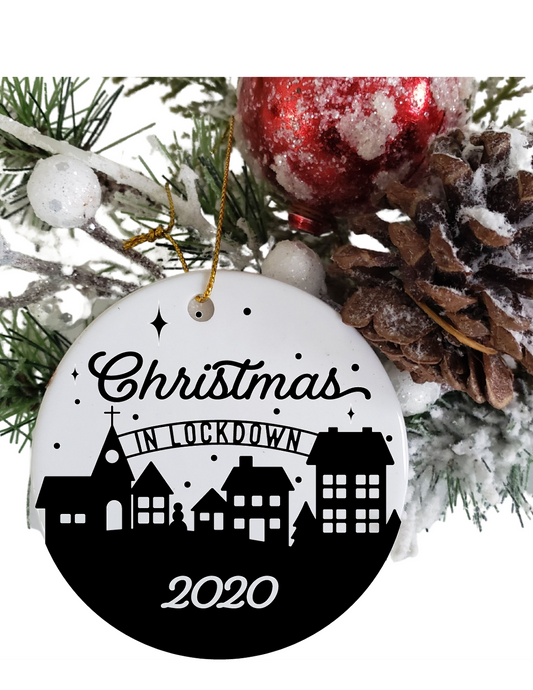 Ornament | Christmas in Lockdown | 2020 | The Good Life Creations