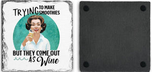 Coaster | Trying to Make Smoothies | Slate | Retro | The Good Life Creations