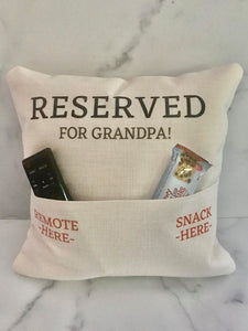 Dad | Grandpa | Pillow | The Good Life Creations