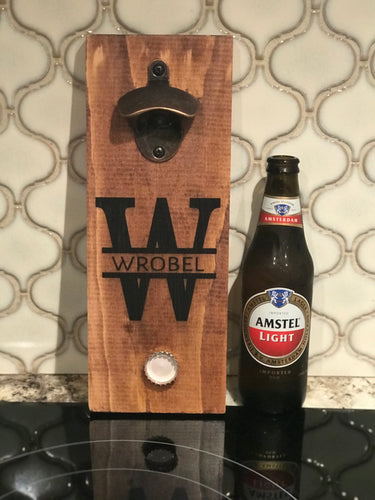 Bottle Opener | Magnetic | Custom | The Good Life Creations
