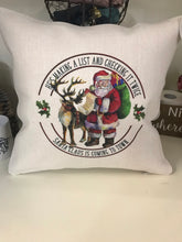 Load image into Gallery viewer, Holiday | Pillow Cover | Tis the Season | Christmas | The Good Life Creations
