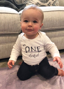 Mr. ONE-derful | Onesie | First Birthday | The Good Life Creations