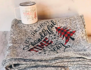 Most Wonderful Time of the Year | Blanket | Stainless Mug | The Good Life Creations