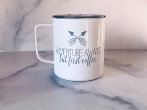 Adventure Awaits | Stainless Mug | The Good Life Creations