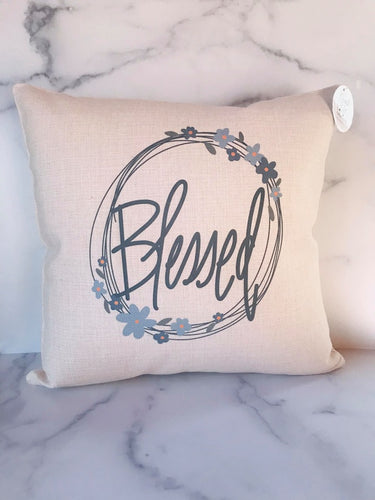 Blessed | Pillow Cover | The Good Life Creations