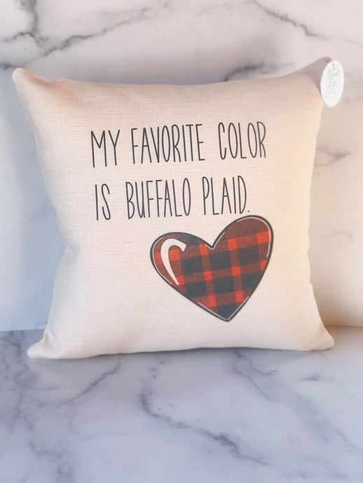 Buffalo Love | Pillow Cover | The Good Life Creations