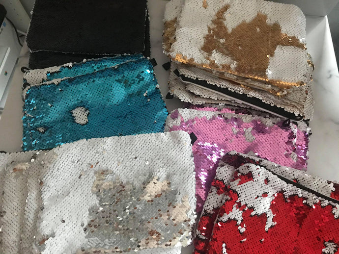 DESTASH Sequin Pouch | The Good Life Creations