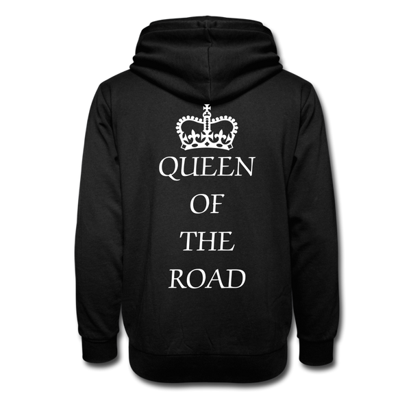 Queen Of The Road Women Biker Hoodie - Biker Apparel and Gears for harley & caferacer riders