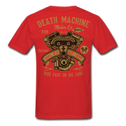 Death Machine Men's T-Shirt - Biker Apparel for harley & caferacer riders