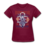 Roadway Bastard Women's T-Shirt - Biker Apparel for harley & caferacer riders
