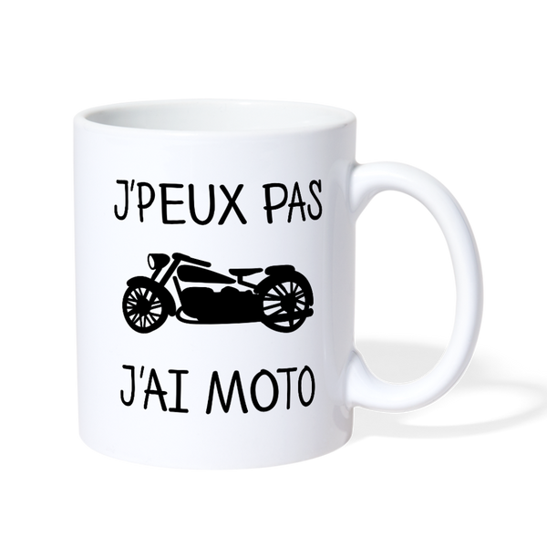 J'ai Moto Coffee/Tea Mug - Biker Apparel and Gears for harley & caferacer riders