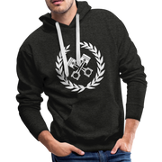 Garage Men's Premium Hoodie - Biker Apparel and Gears for harley & caferacer riders