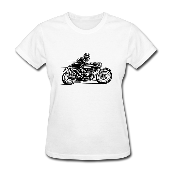 Biker 27 Women's T-Shirt - Biker Apparel and Gears for harley & caferacer riders