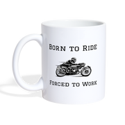 Born to Ride Coffee/Tea Mug - Biker Apparel and Gears for harley & caferacer riders