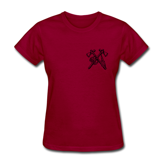 Rider Red Indian Women T-shirt - Biker Apparel for harley & caferacer riders