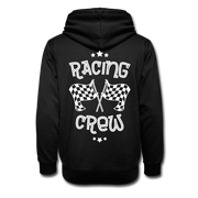 Biker Racing Crew Shawl Collar Hoodie - Biker Apparel and Gears for harley & caferacer riders