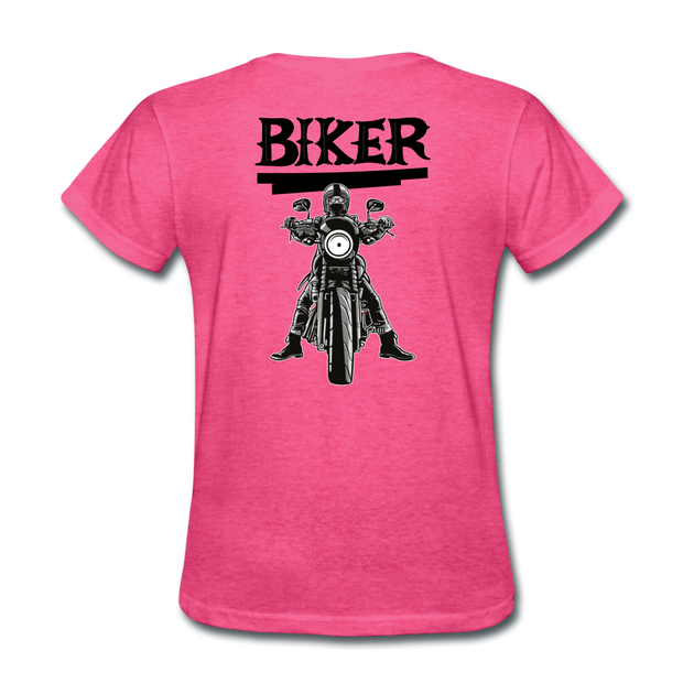 Biker 27 Women's T-Shirt - Biker Apparel for harley & caferacer riders
