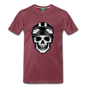Biker Outlaw Skull T-shirt Men - Biker Apparel and Gears for harley & caferacer riders