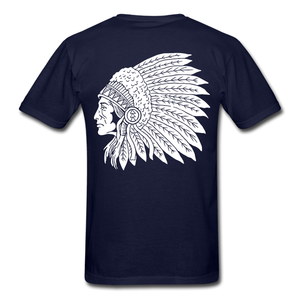 Red Indian Biker T-shirt men - Biker Apparel and Gears for harley & caferacer riders