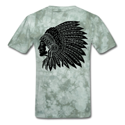 Rider Red Indian Men T-shirt - Biker Apparel for harley & caferacer riders