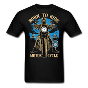 Born to Ride Men's T-Shirt - Biker Apparel and Gears for harley & caferacer riders