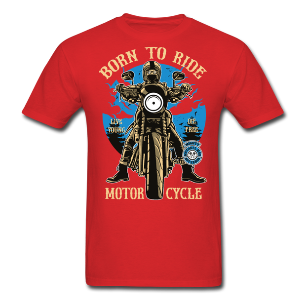 Born to Ride Men's T-Shirt - Biker Apparel for harley & caferacer riders