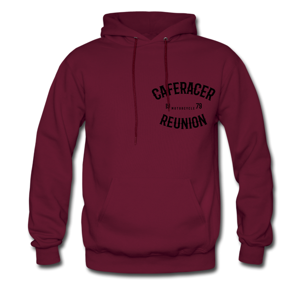 Men's Caferacer Reunion Hoodie - Biker Apparel for harley & caferacer riders