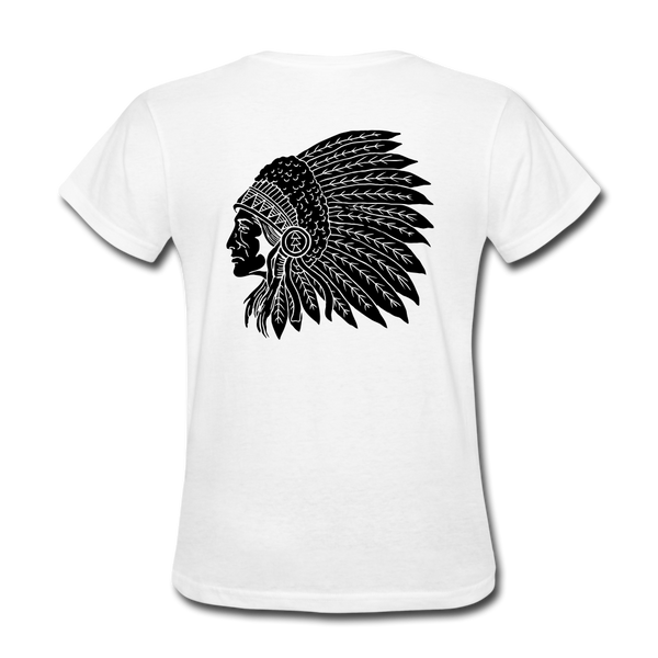 Rider Red Indian Women T-shirt - Biker Apparel and Gears for harley & caferacer riders