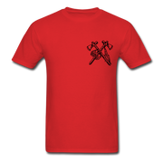 Rider Red Indian Men T-shirt - Biker Apparel and Gears for harley & caferacer riders