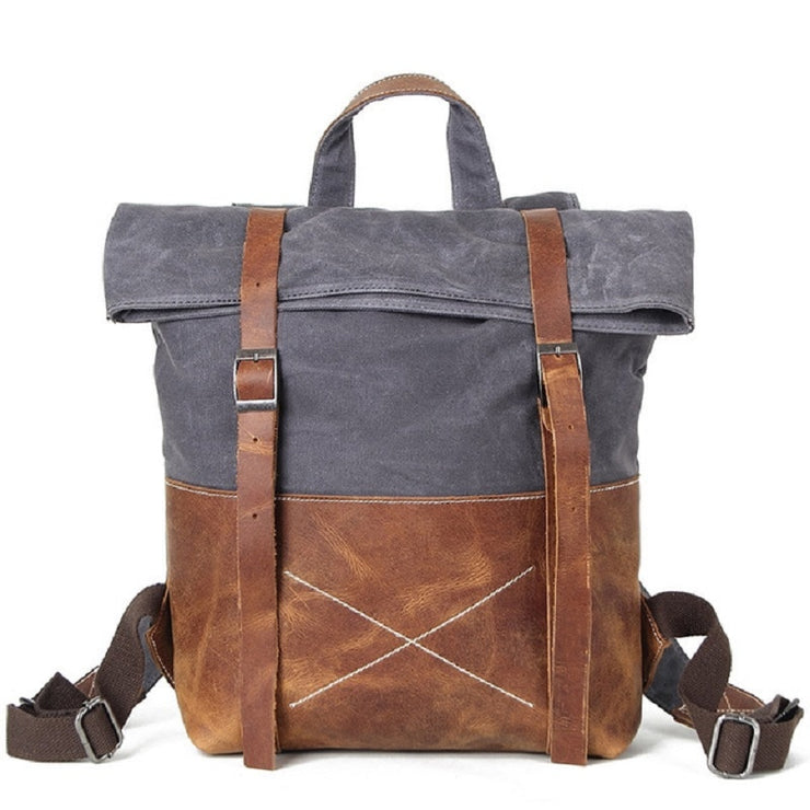 Empire Canvas Urban Simple Backpack - Biker Apparel and Gears for harley & caferacer riders