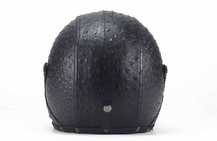 Full Eagle Helmet - Rustic Black - Biker Apparel and Gears for harley & caferacer riders