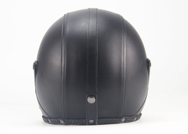Full Eagle Helmet - Classic Black - Biker Apparel and Gears for harley & caferacer riders