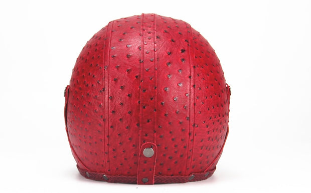 Full Eagle Helmet - Red - Biker Apparel and Gears for harley & caferacer riders