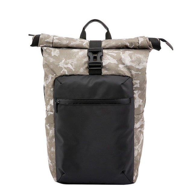 Biker Urban Camo Anti-Theft Backpack - Biker Apparel and Gears for harley & caferacer riders