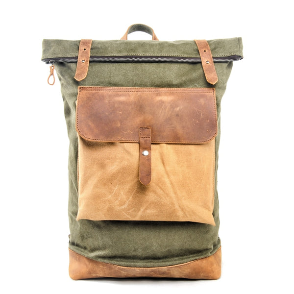 Empire Canvas Urban All Retro Backpack - Biker Apparel and Gears for harley & caferacer riders