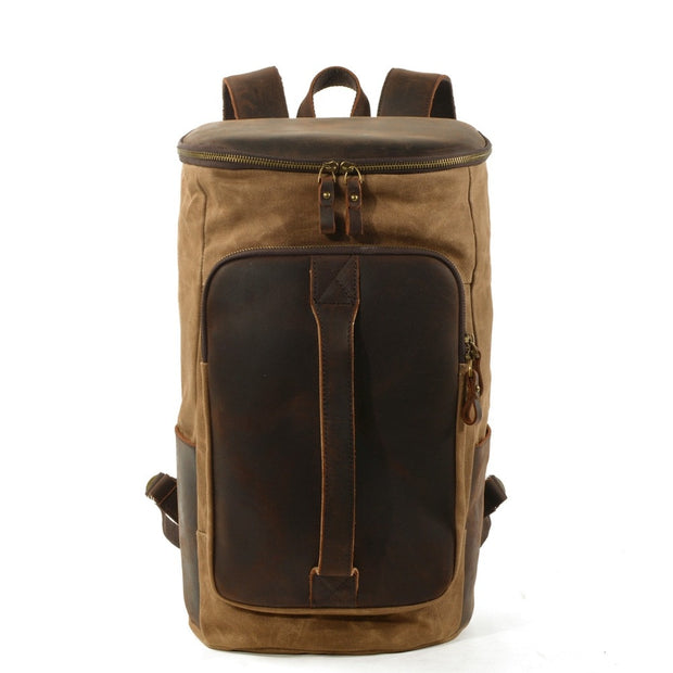 Empire All-Time Tac Canvas Retro Backpack - Biker Apparel and Gears for harley & caferacer riders