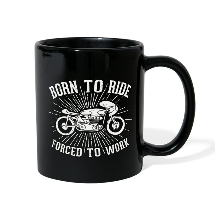 Born to Ride Full Color Mug - Biker Apparel and Gears for harley & caferacer riders