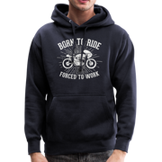 Born to Ride Men's Heavyweight Premium Hoodie - Biker Apparel and Gears for harley & caferacer riders