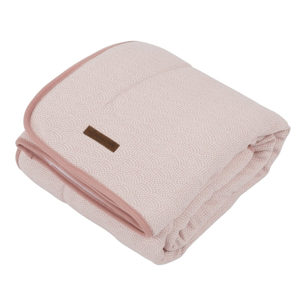 Couverture Teddy Waves Pink Large