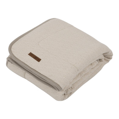 Couverture Teddy Waves Beige Large