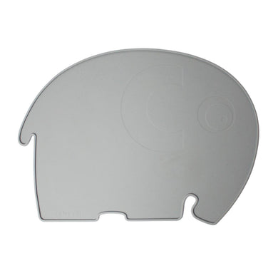 Set de table silicone Elephant Gris
