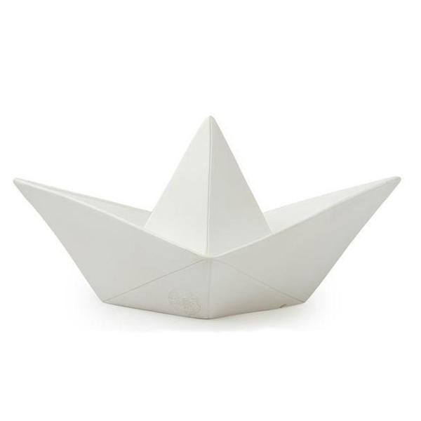 Veilleuse Led Paper boat Blanc