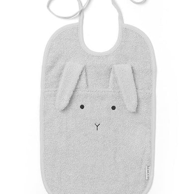 Maxi bavoir Rabbit grey